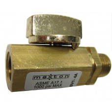 "Maxton Hydraulic Shut Off Ball Valve 1/4"" NPT"